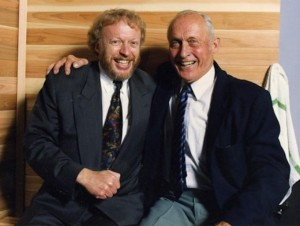 Phil Knight and Bill Bowerman  (via footballfoundation.org)