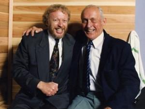 Phil Knight and Bill Bowerman  (via footballfoundation.org)